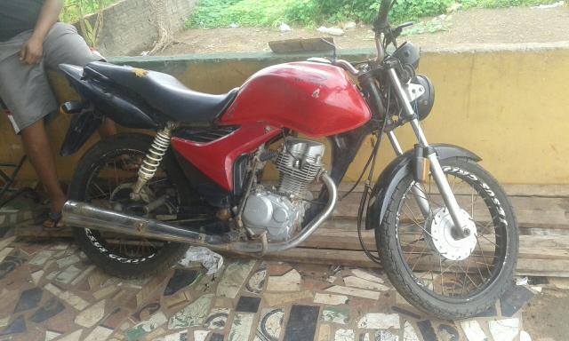 Moto fan cg 125 Honda para interior