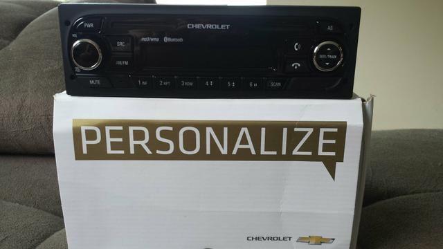 Rádio Mp3 Usb Bluetooth Auxiliar original Chevrolet sem CD