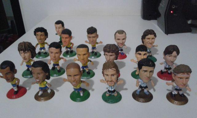Super Lote Mini Craques (Microstars / Soccerstarz)