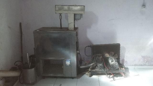 Maquina de picolé