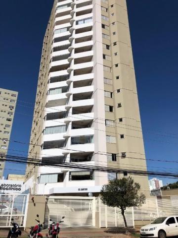 Apartamento à venda, 4 quartos, 2 vagas, centro - campo grande/ms