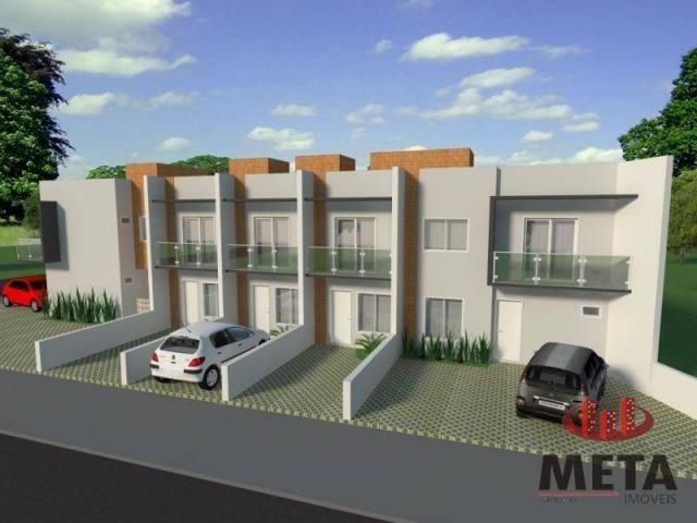 Sobrado com 2 dormitórios à venda, 68 m² por R$ 194.000,00 - Espinheiros - Joinville/SC - Foto 3