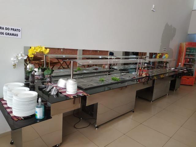Self service buffet em tam. e mod. diferentes (restaurantes) - NOVO - Foto 5