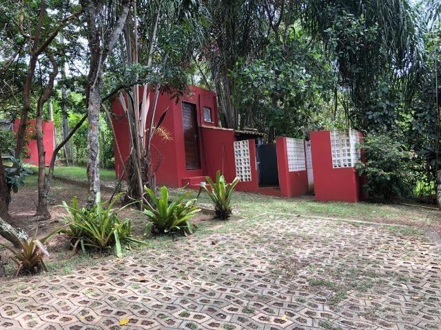 Casa 3/4 Praia do Forte, na beira da lagoa Aruá, contato direto com a natureza - Foto 8