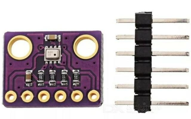 COD-AM279 Sensor Bme280 Pressão Temperatura E Umidade Gy-bm Arduino Robotica - Foto 3