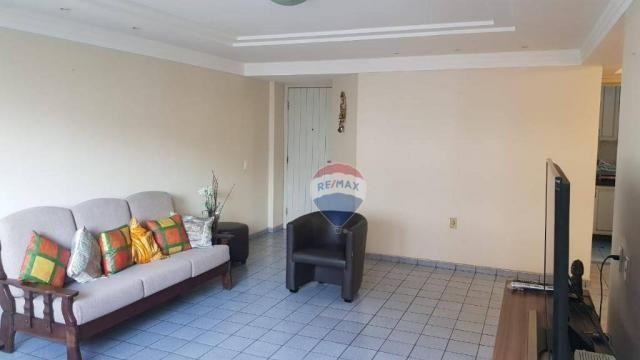 Apartamento com 3 dormitórios à venda, 106 m² por R$ 230.000,00 - Barro Vermelho - Natal/R - Foto 4