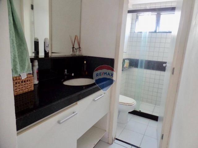 Apartamento com 3 dormitórios à venda, 97 m² por R$ 400.000,00 - Tirol - Natal/RN - Foto 11