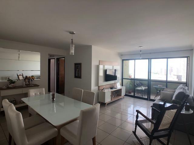 Apartamento 127m2, 3 quartos, 1 suíte, lazer completo, Beira-Mar de Olinda - Foto 3