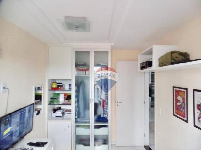 Apartamento com 3 dormitórios à venda, 97 m² por R$ 400.000,00 - Tirol - Natal/RN - Foto 13