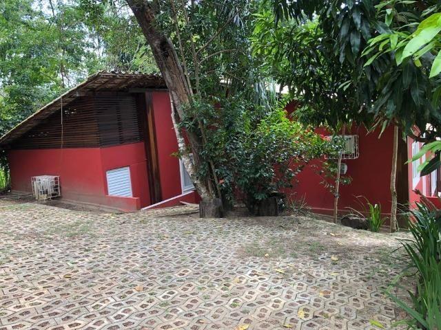 Casa 3/4 Praia do Forte, na beira da lagoa Aruá, contato direto com a natureza - Foto 11