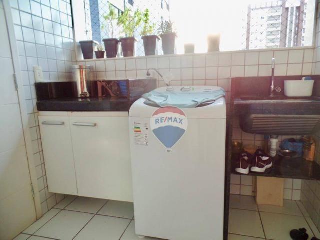 Apartamento com 3 dormitórios à venda, 97 m² por R$ 400.000,00 - Tirol - Natal/RN - Foto 8