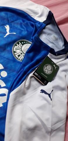 Camisa Palmeiras comemorativa libertadores 1999 - Foto 4