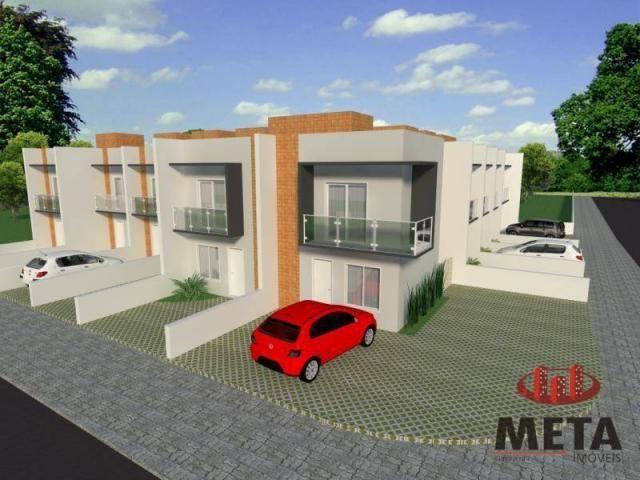 Sobrado com 2 dormitórios à venda, 68 m² por R$ 194.000,00 - Espinheiros - Joinville/SC - Foto 4