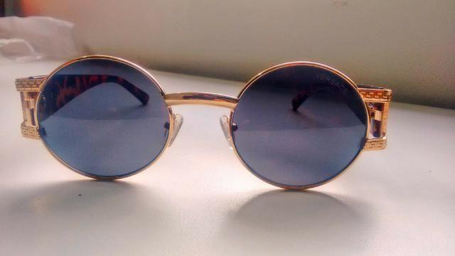 326c8814106c3 Óculos Redondo Versace Luxo - Bijouterias