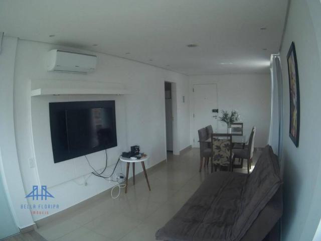 Apartamento com 3 dormitórios à venda, 78 m² por r$ 420.000 - canasvieiras - florianópolis - Foto 2