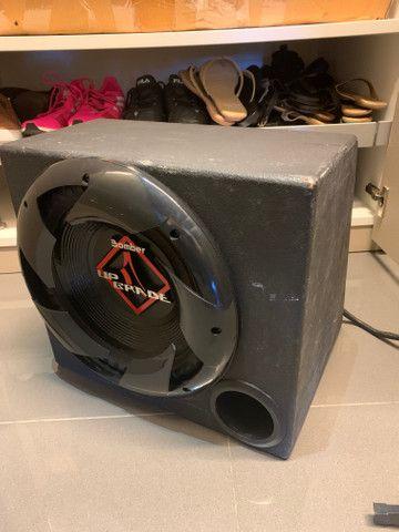 Subwoofer Bomber 12 polegadas com caixa selada - Foto 2