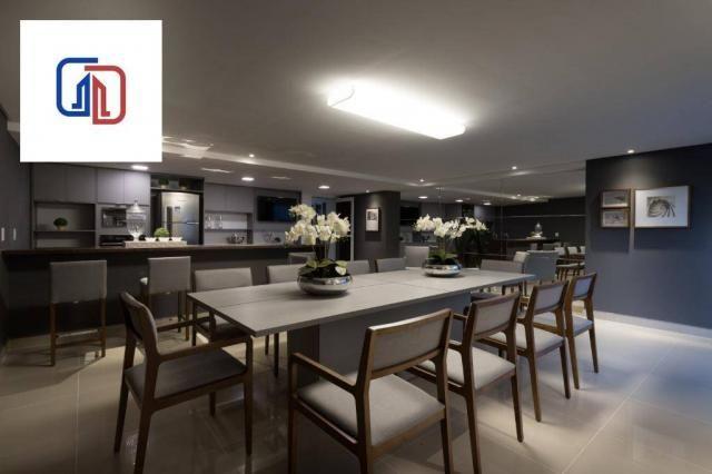 Apartamento com 2 dormitórios à venda, 62 m² por R$ 377.137 - Manaíra - João Pessoa/PB - Foto 9