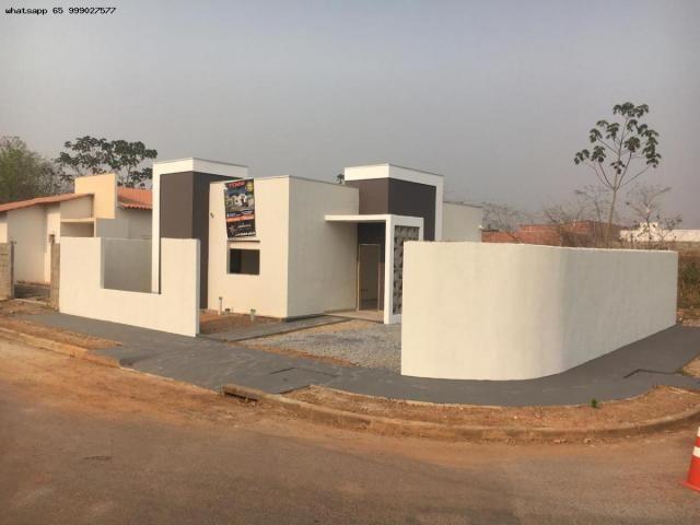Casa para Venda em Várzea Grande, Jardim Jatobá, 3 dormitórios, 1 suíte, 2 banheiros, 2 va - Foto 4