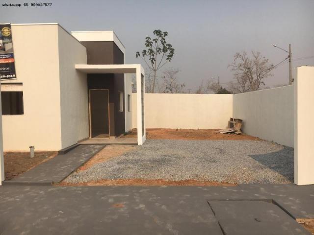Casa para Venda em Várzea Grande, Jardim Jatobá, 3 dormitórios, 1 suíte, 2 banheiros, 2 va - Foto 7