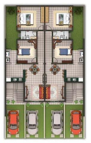 Planta/Desenho de Arquitetura Casa - Foto 3