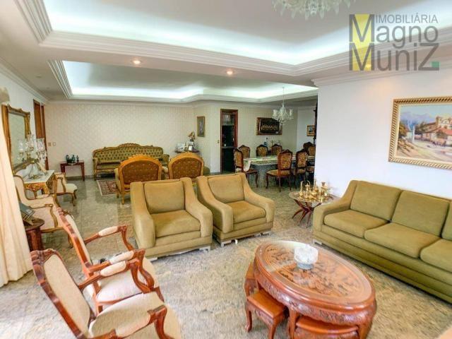 Apartamento com 4 dormitórios para alugar, 303 m² por R$ 4.200,00/mês - Aldeota - Fortalez