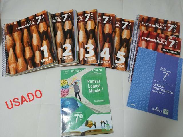Livros 7° ano sesi novo - Foto 2