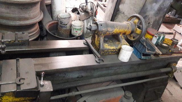 Torno Mecanico 260MM Barramento - Foto 3