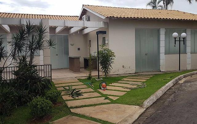Casa cond fechado lazer compl 3 qts 2 vagas AC financiamento - Foto 3
