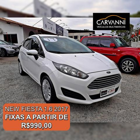 Ford New Fiesta 1.6 SE Hatch - Completo