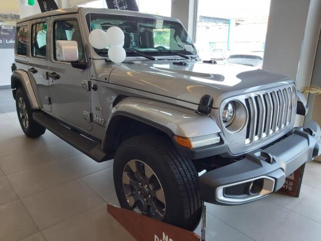 WRANGLER SAHARA UNLIMITED OVERLAND 4X4 2.0 AT8 TUR