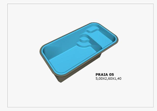 Piscina Praia5 5.00x2.60