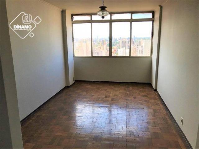 Apartamento com 2 dormitórios para alugar, 93 m². - centro - ribeirão preto/sp - Foto 2