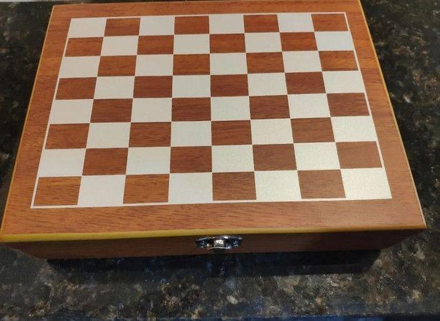 Kit tabuleiro de xadrez - Foto 2
