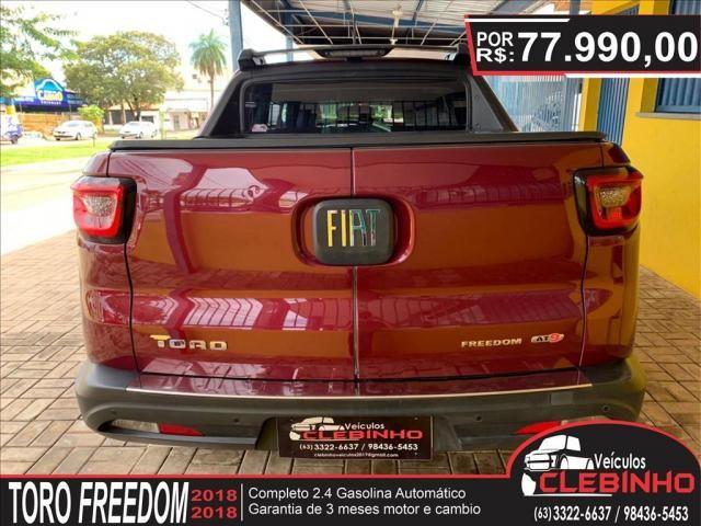 FIAT TORO 2.4 16V MULTIAIR FLEX FREEDOM AUTOMÁTICO - Foto 4