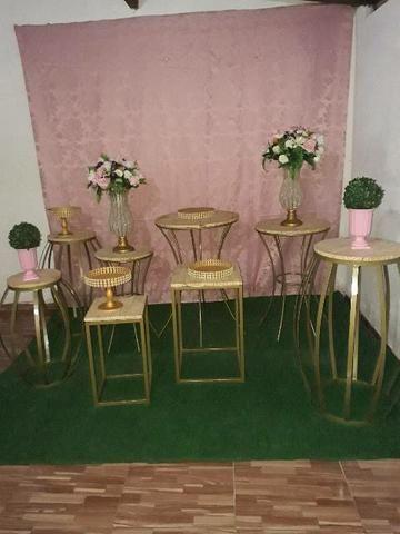 Vendo móveis para decoração de festas em perfeito estado de conservação