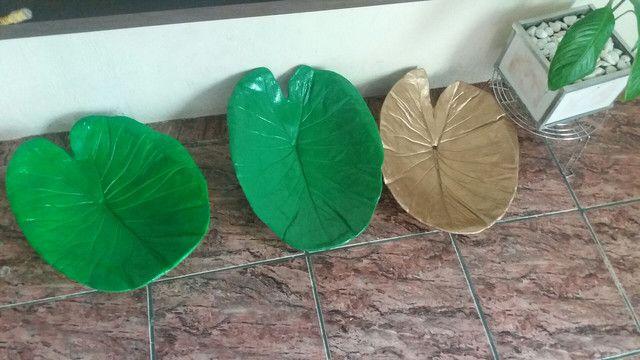 Fruteiras e vasos de plantas artesanal