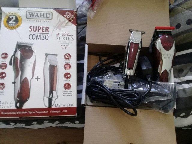 Maquinas de cabelo Wahl Novas - Venda ou Troca