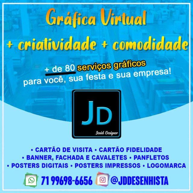 Gráfica Virtual! A melhor - JD Gráfica