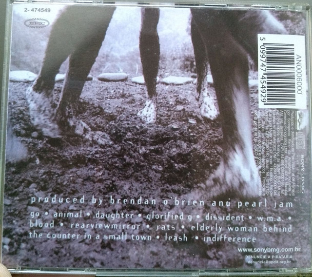 Cd Pearl Jam VS - Foto 2