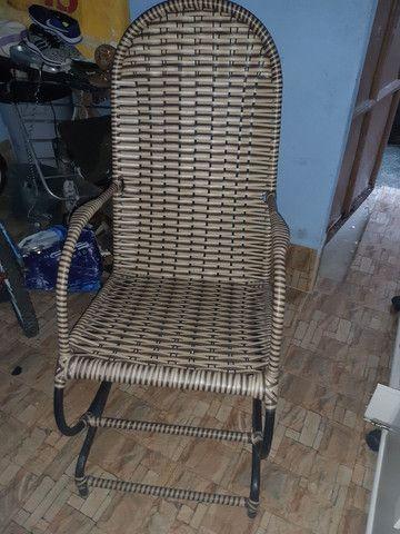 Cadeira de balaço  - Foto 2