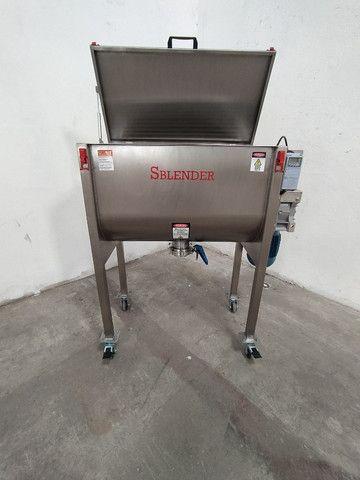 Misturador Ribbon Blender Industrial Produção dia 1.2 toneladas - Foto 4