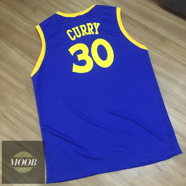 Regatas Dry Fit Curry Golden State