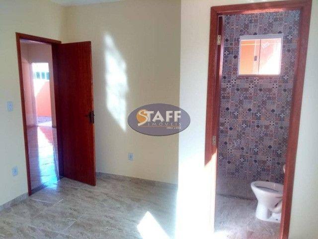 KA- Casa na Planta e com 2 quartos e suíte, em Condomínio, por R$ 100.000 - Unamar - Foto 10