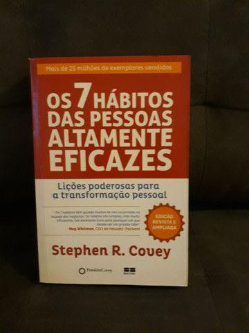 Livros: combo com 3 livros