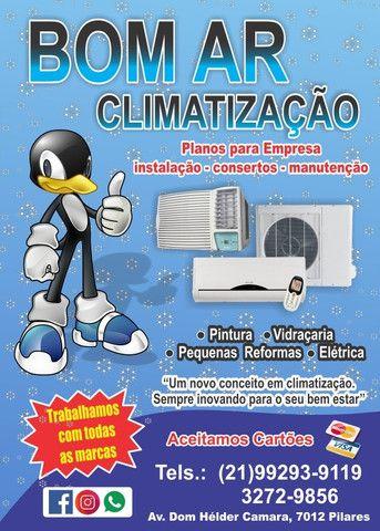 Consertos, Manutenção e instalação de Ar Condicionado