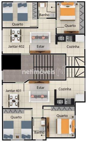 Apartamento à venda com 2 dormitórios em Serra dourada, Vespasiano cod:847933 - Foto 11
