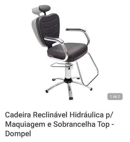 2 Cadeiras de cabeleireiro - Foto 2
