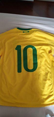 Camisa Seleção Brasil 2010 - Foto 2