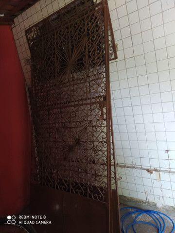 Portão usado bem conservado
