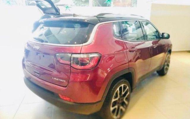 Jeep Compass Limited Flex 2021 Okm A Pronta Entrega Melhor Preço da Baixada !!! - Foto 10